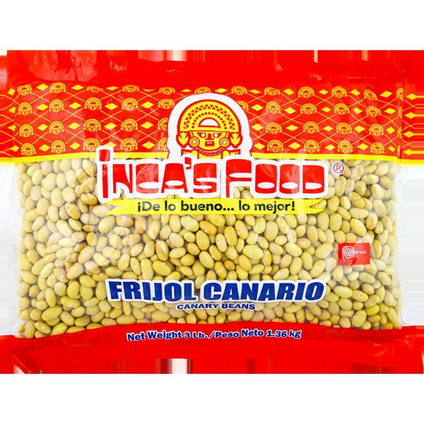 Inca's Food_Canary Beans 3lb_56377